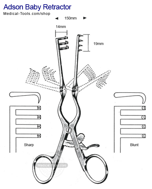 weitlaner retractor surgical instruments medical tools shop