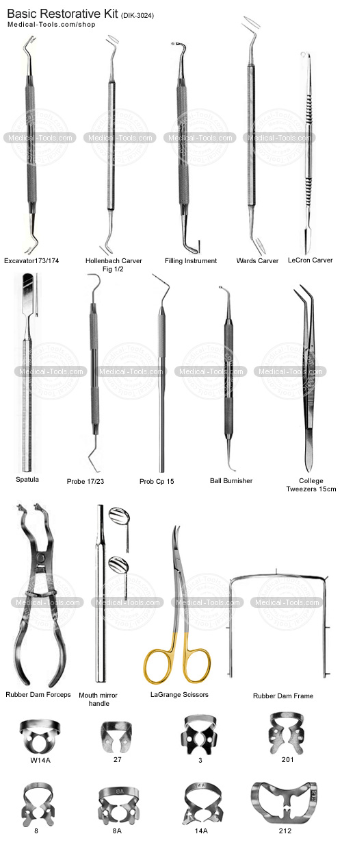 dental instruments names and uses pdf