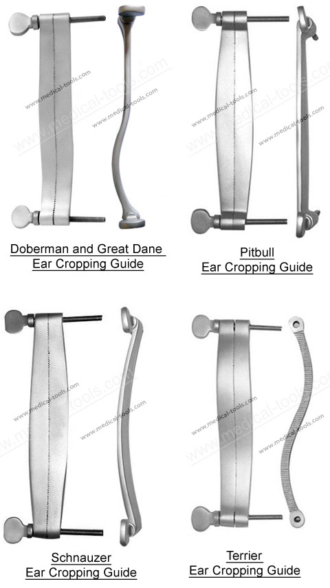 Dog Ear Cropping Guide Set Veterinary Instruments Medical Tools Shop