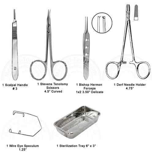 basic eye kit veterinary instruments medical tools shop
