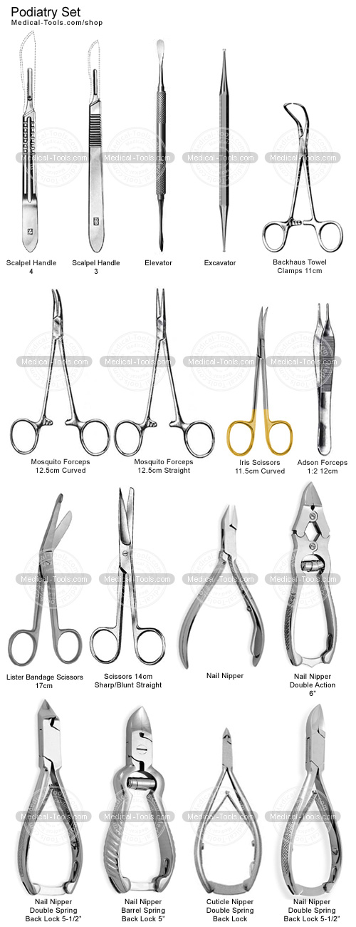 podiatry instruments pack podiatry instruments medical tools shop