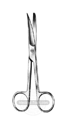 Standard Scissors Curved
