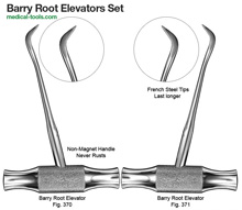 Barry Root Elevators Set