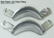 Bite Plates with Wide Fitting