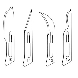Scalpal Blades for Handle No. 3