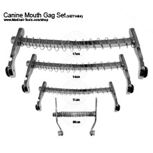 Canine Mouth Gag Set