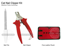 Cat Nail Clipper Kit