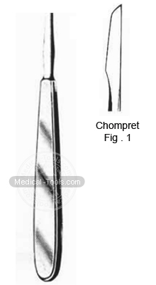 Chompret Root Elevators Fig 1