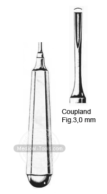 Coupland Root Elevators Fig 3,0 mm  