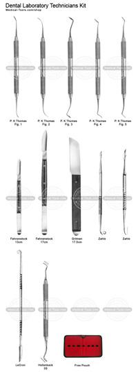 Dental Laboratory Technicians Kit
