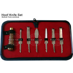 Hoof Knife Set