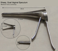 Sheep, Goat Vaginal Speculum
