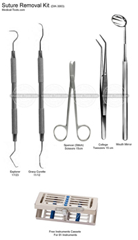 Dental Suture Removal Kit