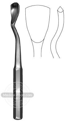 Swan Neck Gouge
