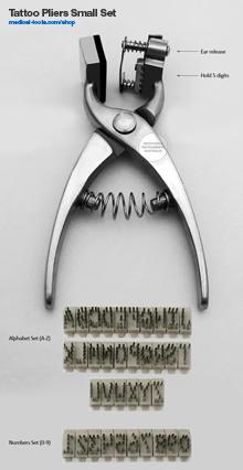 Tattoo Pliers Kit Small