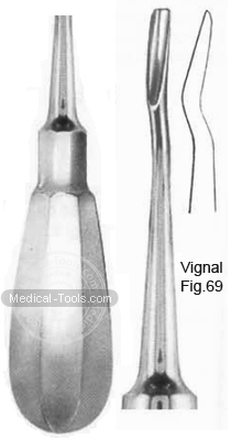 Vignal Root Elevators Fig 69