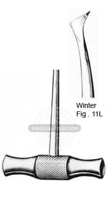 Winter Root Elevators Fig 11L