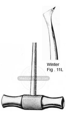 Winter Root Elevators Fig 11L