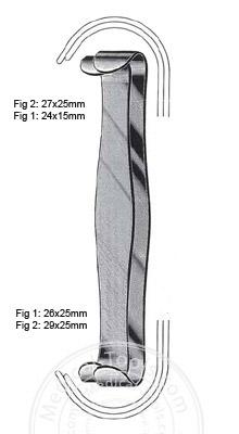 Parker Retractors 18cm