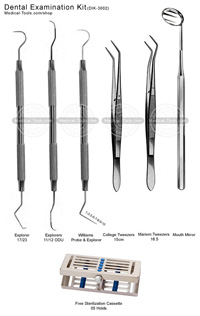Dental Examination Kit Dental Instruments Medical Tools Shop